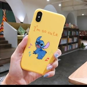Yellow Stitch (LILO & STITCH) IPhone XR Case